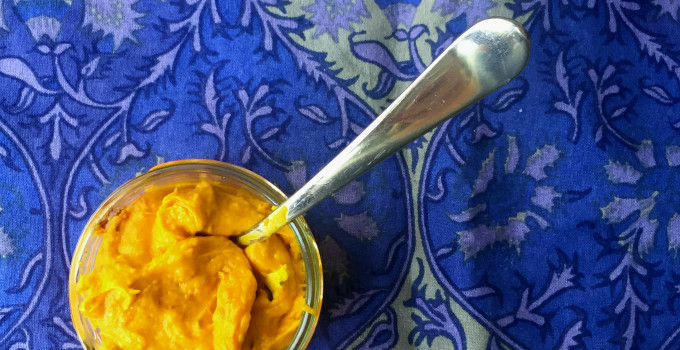Paleo Winter Squash Banana Ice-cream
